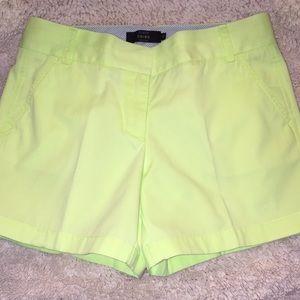J Crew Chino Shorts NWOT